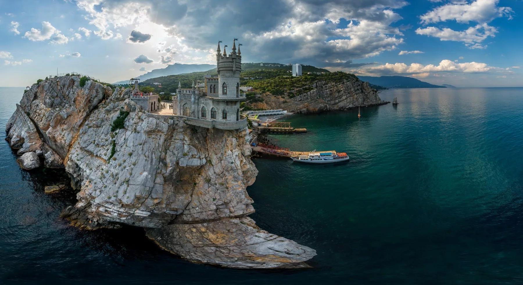 Ноябрьские праздники в Крыму (Ялта)