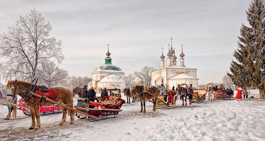 ❄ Новый год в русском стиле из Ростова-на-Дону
