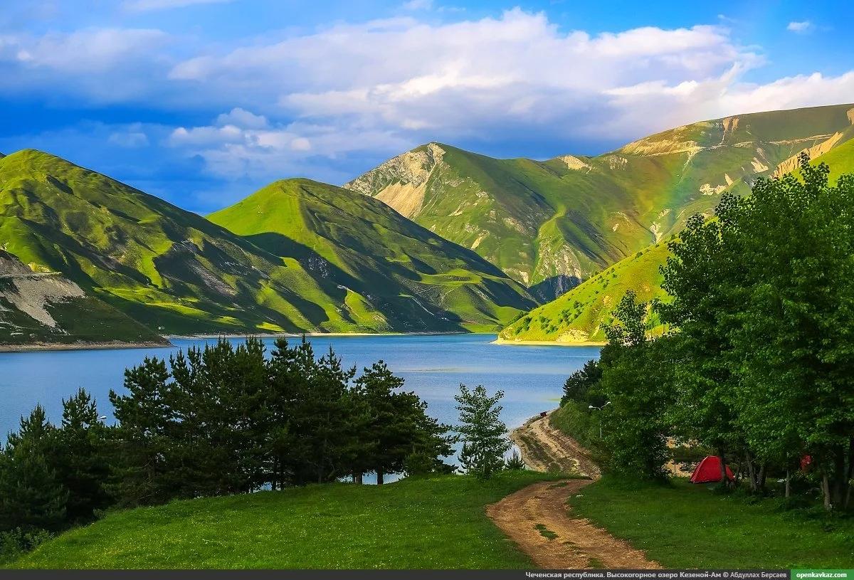 Новый Год 2020 на озере Кезеной-Ам