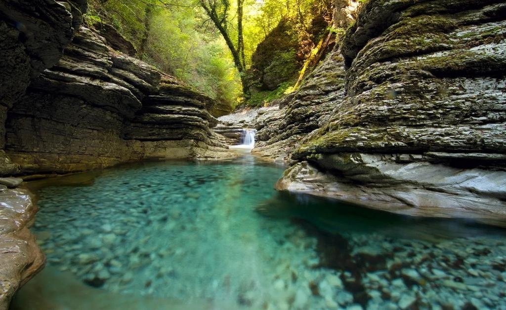 Однодневный тур. Чудо природы - Гуамское ущелье