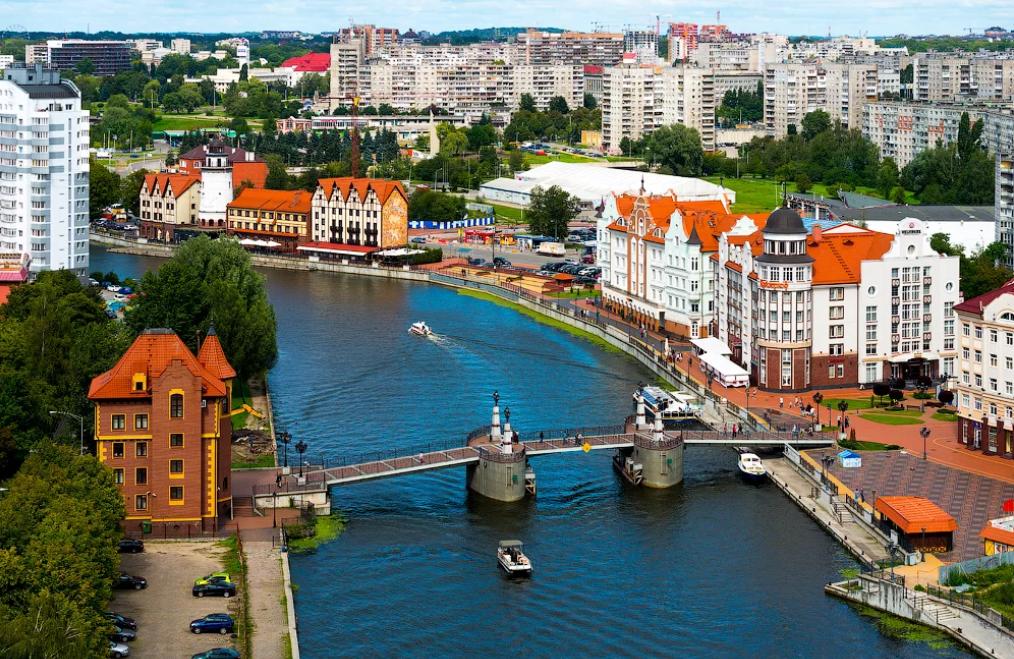 Калининград на майские праздники (28.04 - 05.05.19)