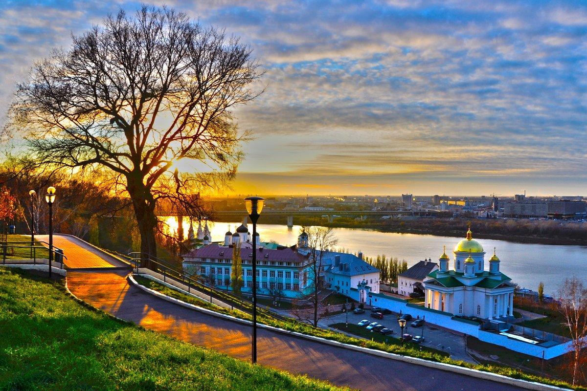 Нижний Новгород «Город над Волгой и Окой»