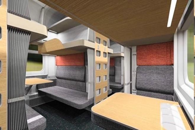 Открыта продажа билетов на поезд с первым модернизированным плацкартным вагоном