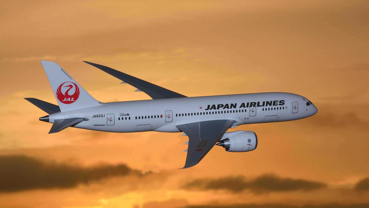 Japan Airlines переводит рейсы в Шереметьево