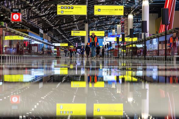 В московском аэропорту Шереметьево открыли новый терминал