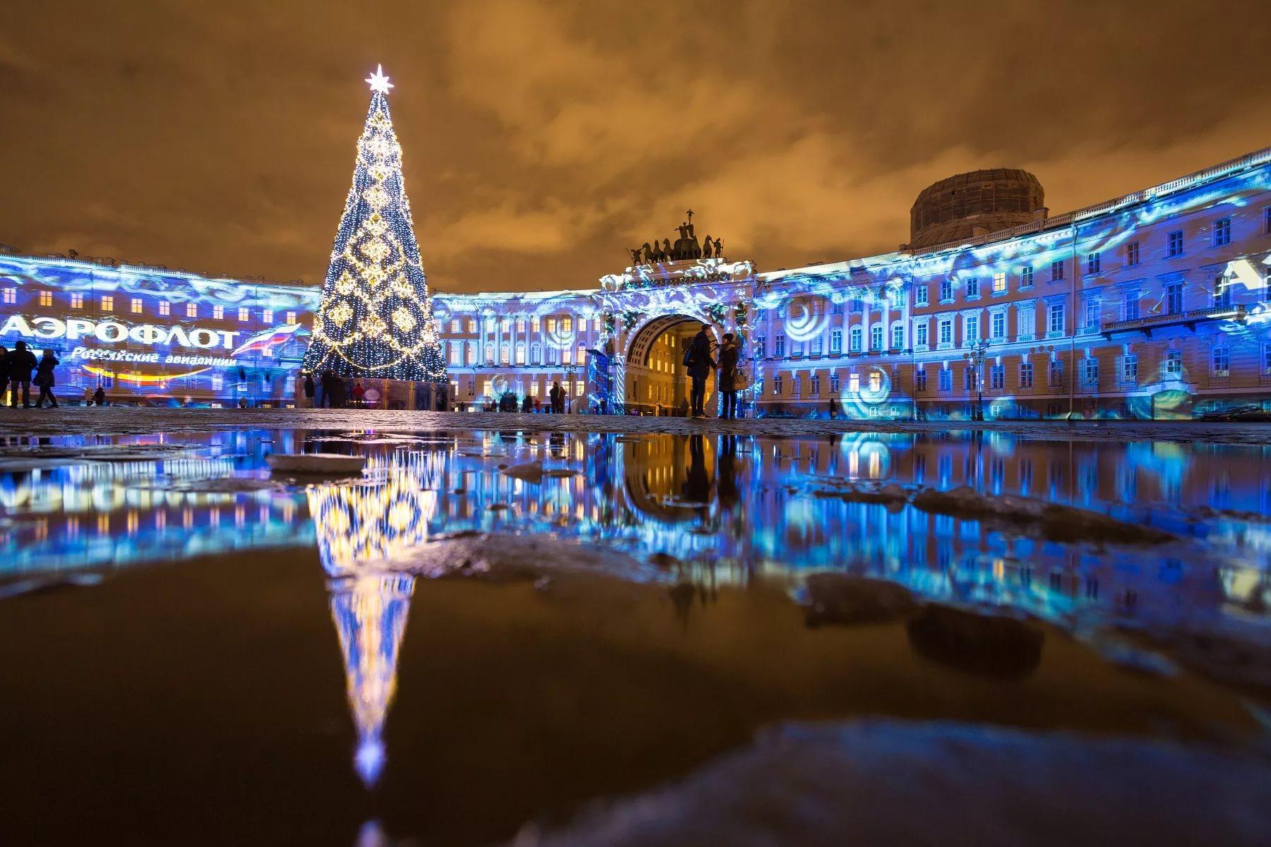 Новогодний праздник в Петербург в особняк купцов Елисеевых