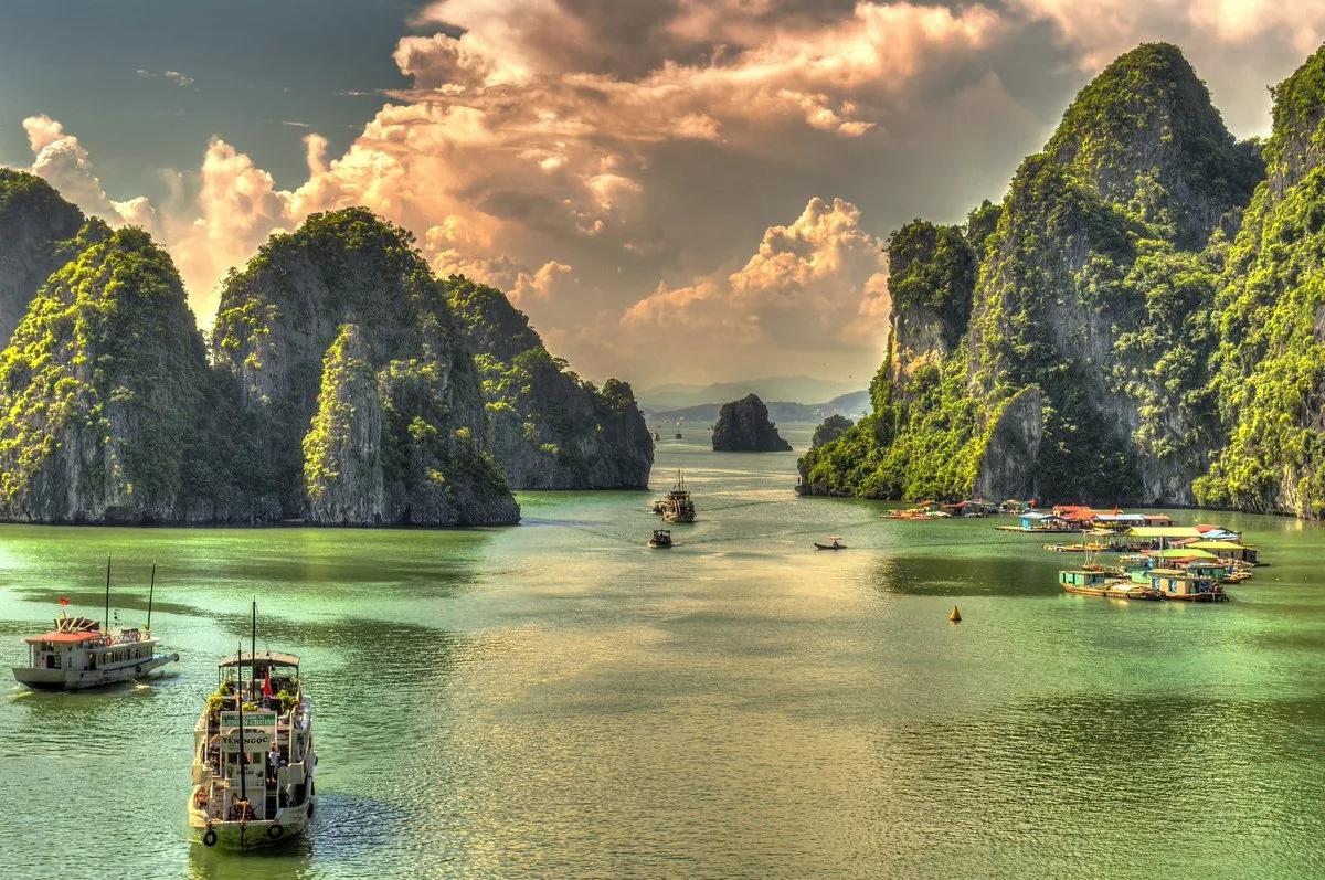 Вьетнам с севера на юг - Халонг.