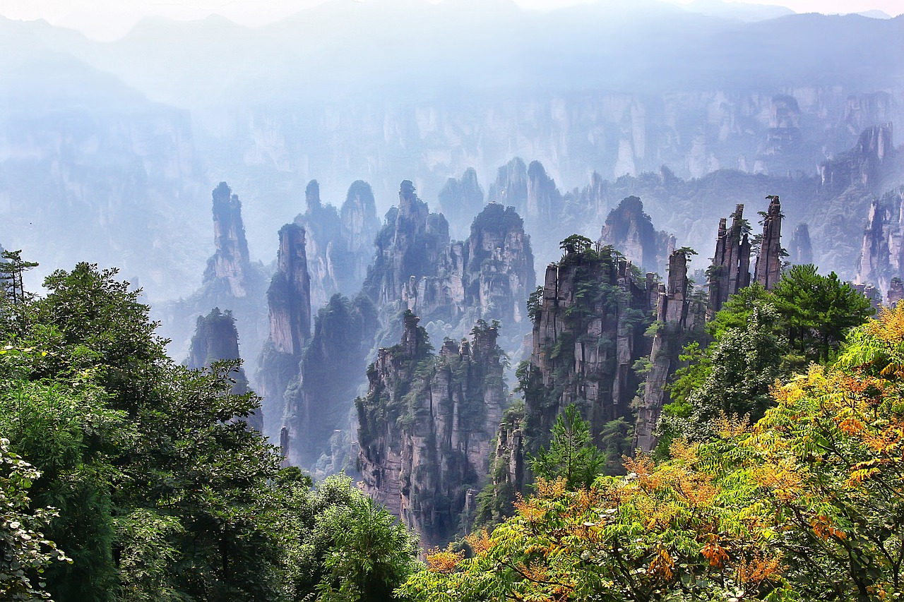Китай: Аватар. Среди летающих гор (8д/7н)